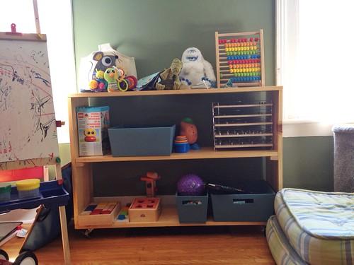 A shelf for M