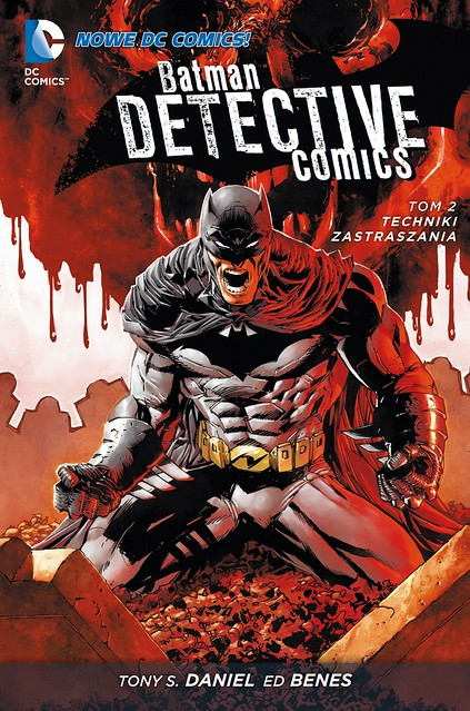 Batman Detective Comics 02 Techniki zastraszania