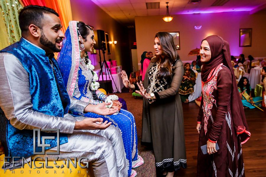 Zeenat & Ayaz's Mehndi/Sangeet Night   Monarch Ballroom   Atlanta Indian Wedding Photography