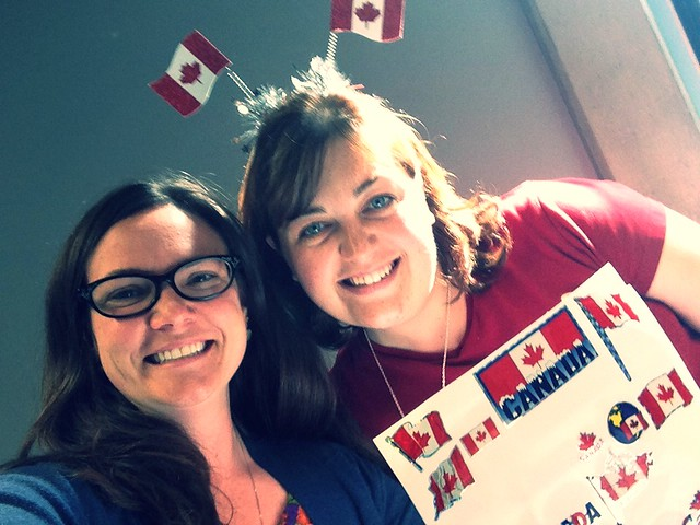 Oh Canada!!! Celebrating from   across the Atlantic thanks to @marcielew