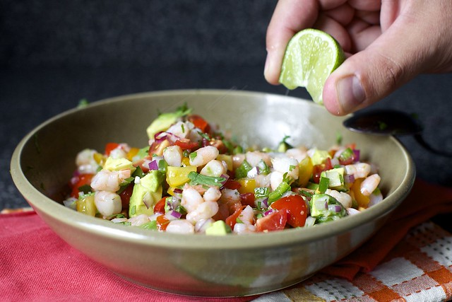 a little more lime in the salsa