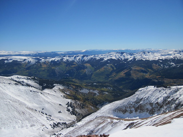 Picture from Redcloud Peak, Colorado