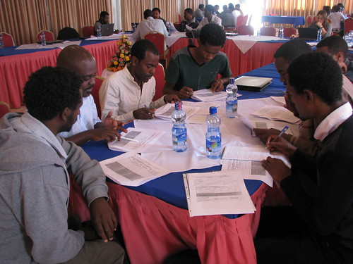 Ethiopia benchmarking tools training Nov2013