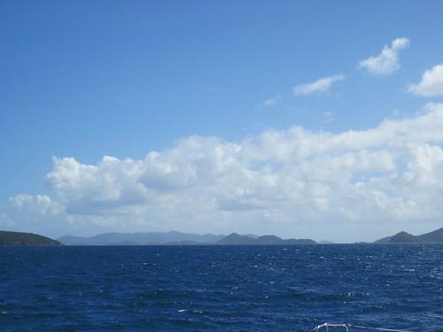 sailing to St. John