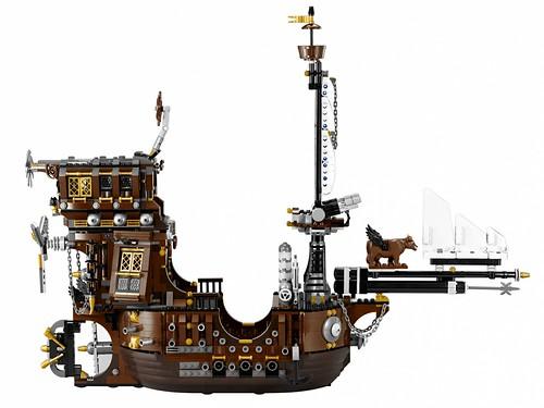 The LEGO Movie 70810 MetalBeard's Sea Cow set 3