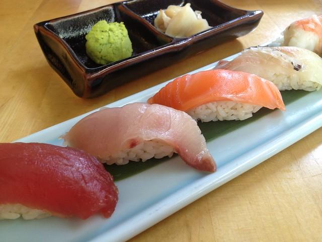 Moriawase sushi - Sushi Ran