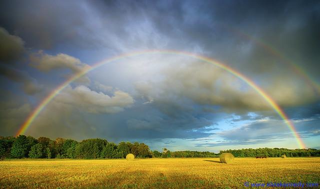 Double Rainbow in Door County - Mark III