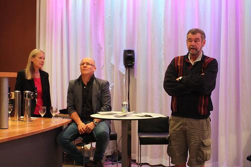 – Det krävs en orkester som känner starkt för musiken. Det skulle inte kunna göras av någon annan än SON, sade Robert von Bahr vid presskonferensen.