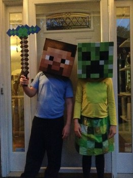 A Very Minecraft Halloween