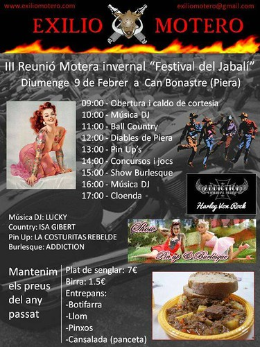 III Reunion Motera Festival Jabali - Can Bonastre