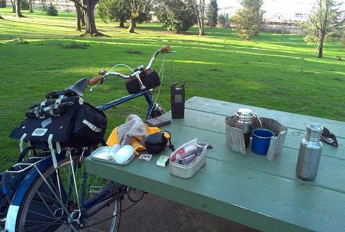 Late Afternoon Coffee Club, Farragut Park, 22 March 2014 by urbanadventureleaguepdx