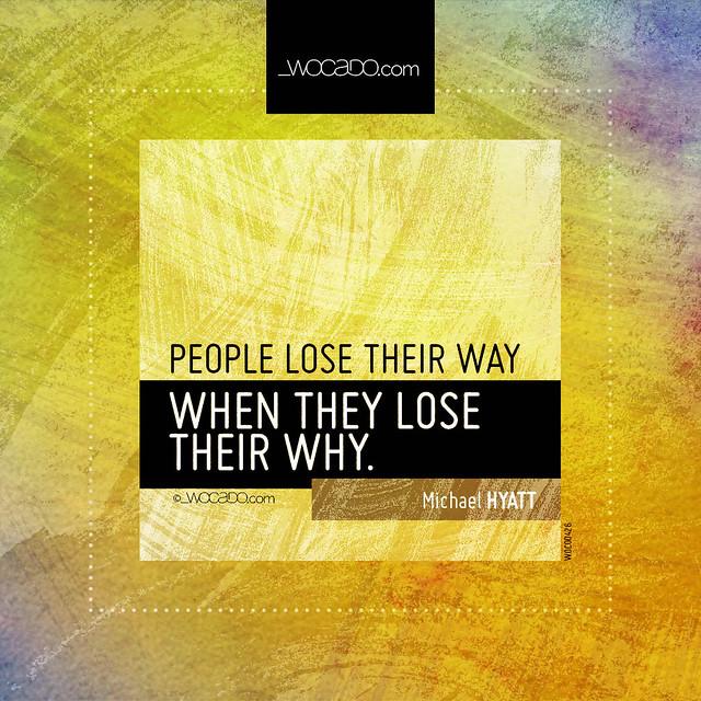 People lose their way by WOCADO.com
