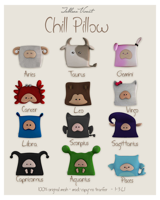 ~Tableau Vivant~ Chill pillow AD