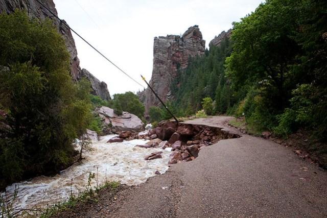 Flood in Eldorado Springs and Boulder