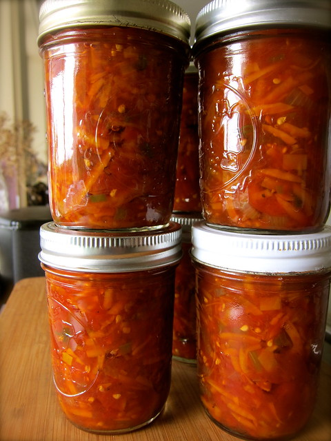 Putting Up: Carrot Salsa