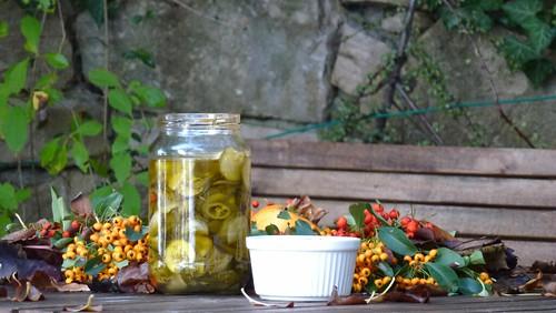 Hot sweet-sour Zucchini -Zucchini agropiccanti
