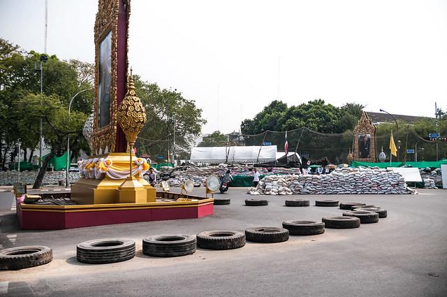 Protesters after Bangkok Shutdown