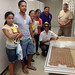While at the Smithsonian's Natural History and Anthropology Collections, the University of Hawaii delegation saw tapa cloth from Hawaii circa 1830s from among the first American expeditions collecting archival and archaeological specimens.