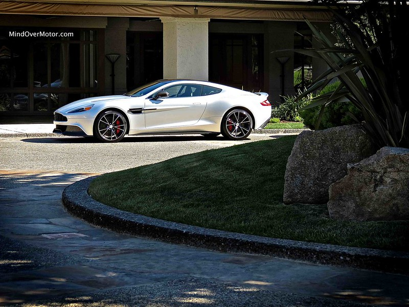 Aston Martin Vanquish spotted in Pebble Beach, CA