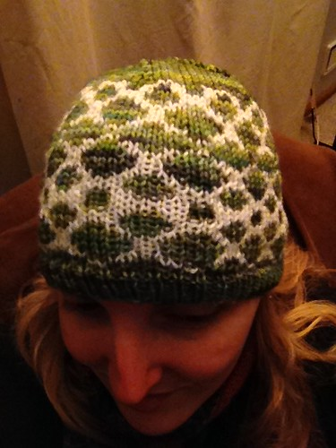 i knit this in three days! #project365