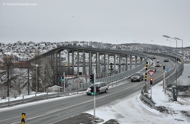 Tromso Bridge from Arctic Cathedral