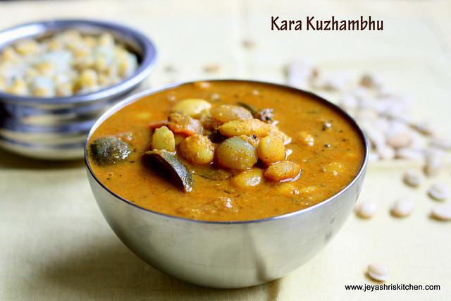 kara kuzhambhu 1