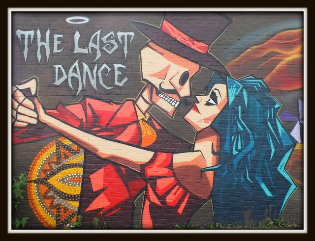 Peaceful Progress street art, Cardiff