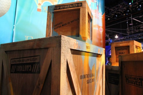 Star Wars attraction teaser at 2013 D23 Expo
