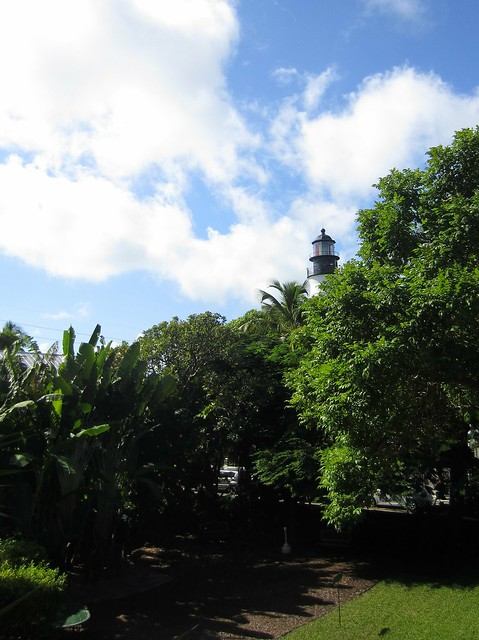 Key West Lighthouse from the Hemingway House