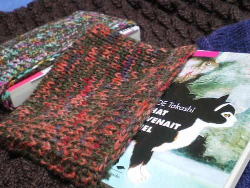 tricot protège livre