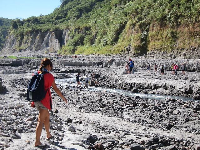 Trekking to Pinatubo's Crater 2012