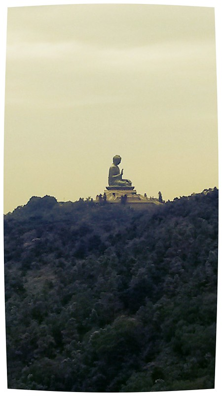 view of Tian Tian Buddha