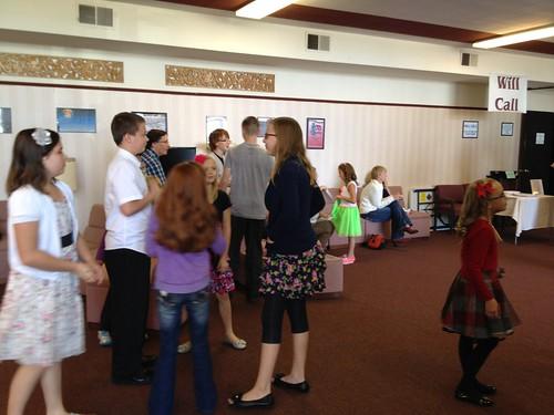 Kids in Lobby