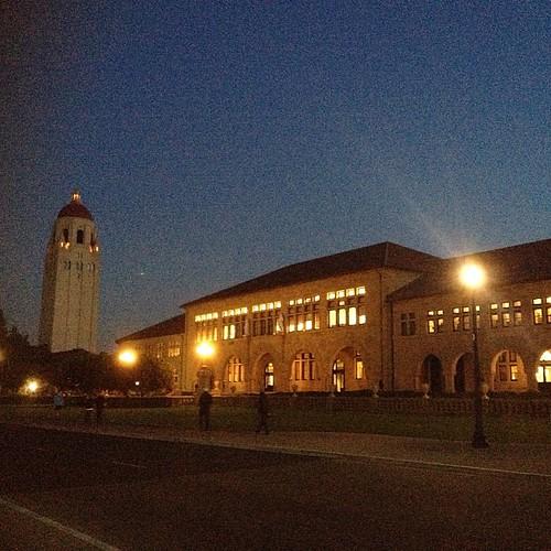 Stanford at dusk