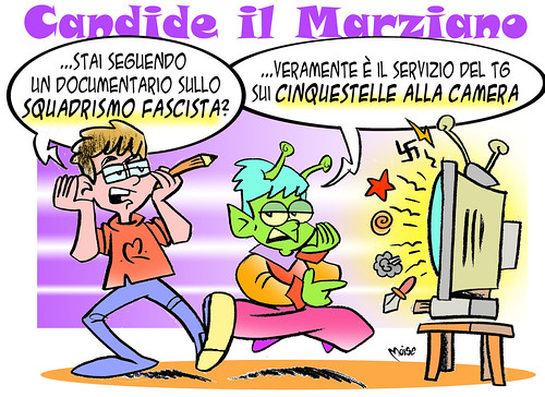 Candide (il Marziano) Camera by Moise-Creativo Galattico
