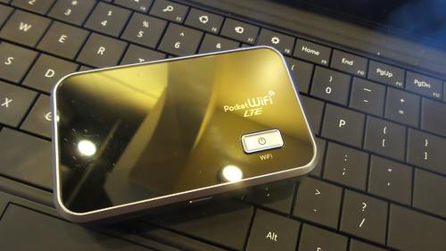 Pocket WiFi สำหรับใช้ที่ญี่ปุ่น