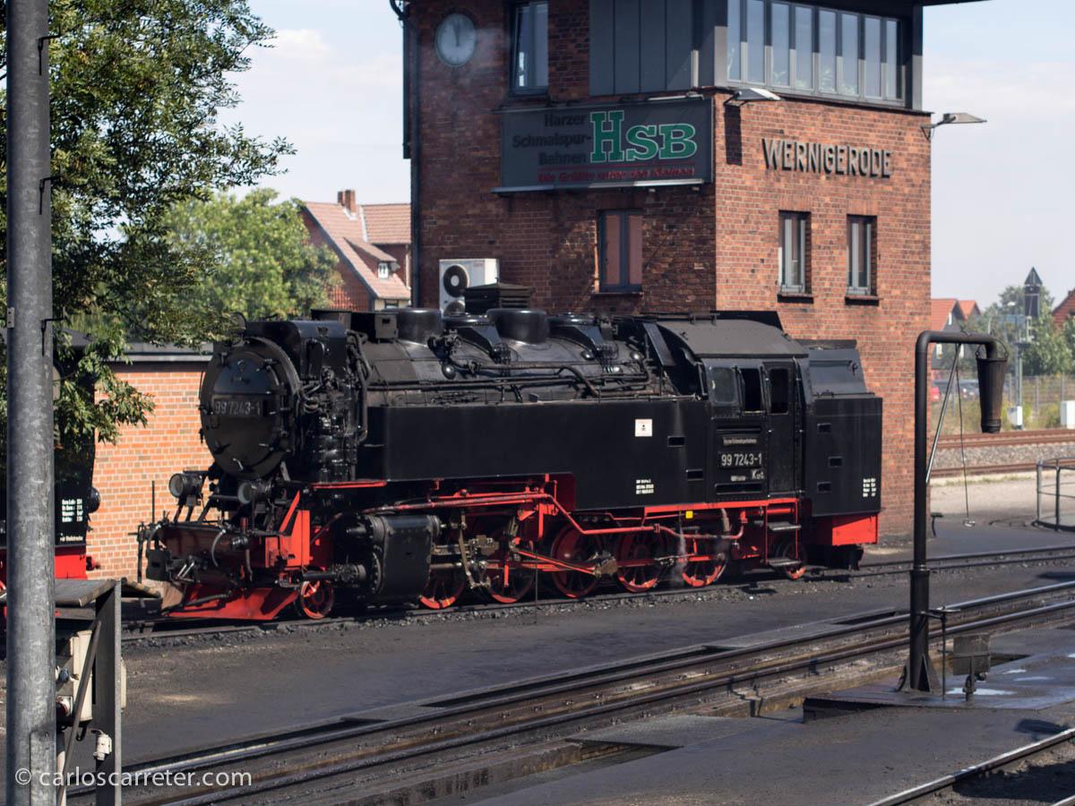 Locomotora de vapor - Wernigerode