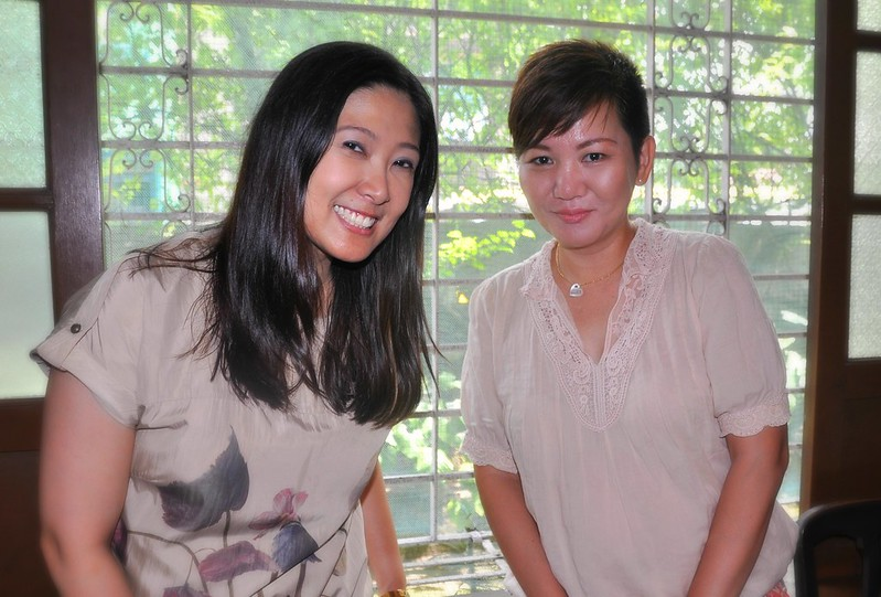 Meeting foodie writer/blogger Margaux Salcedo