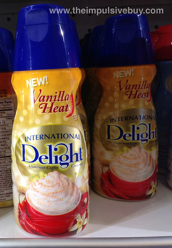 International Delight Vanilla Heat Creamer