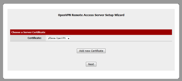 Configuring OpenVPN on pfSense | HIGHLNK