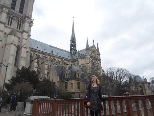 Lizzie at Notre Dame