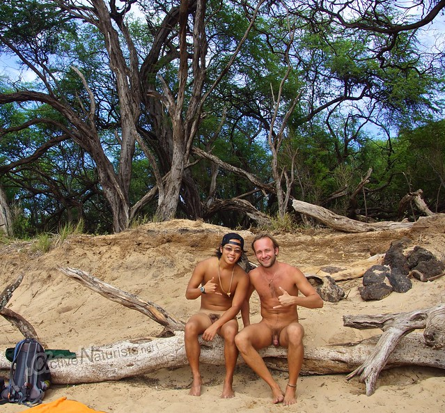 naturist 0003 Little Beach, Maui, Hawaii, USA