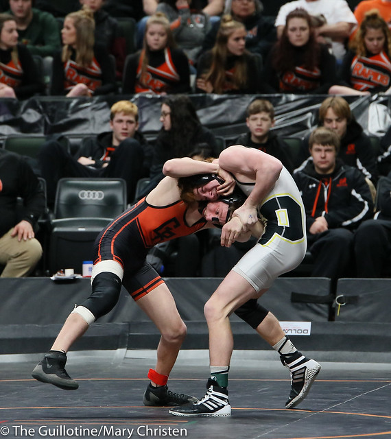 138 - Dylan Fudge (Perham) over Kellen Schauer (Grand Rapids) Dec 5-3