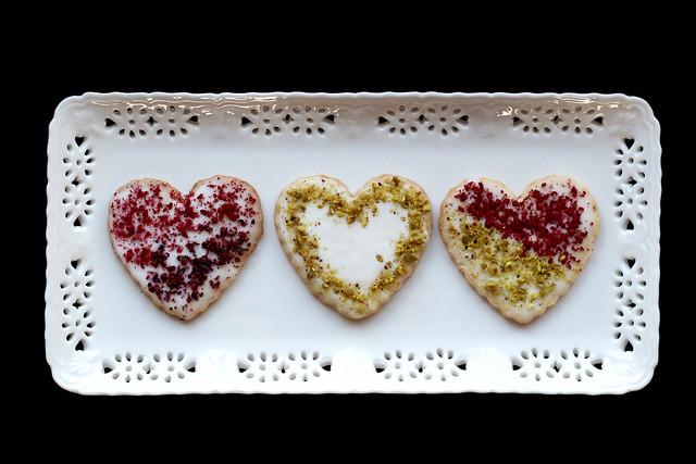 Lavender Shortbread Valentines - 23