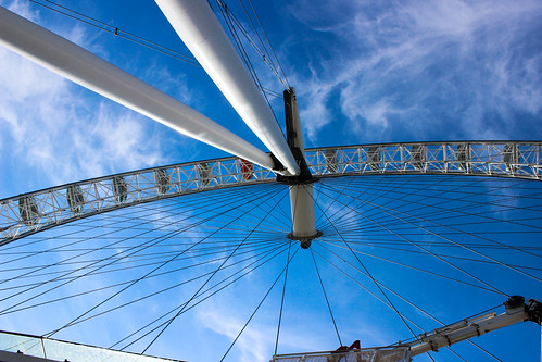 London Eye I by Christopher OKeefe