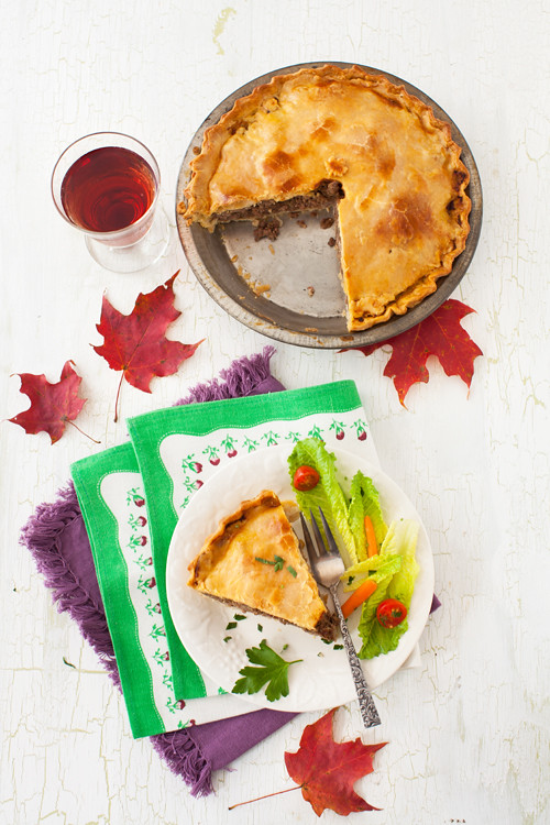 Tourtière Canadian Meat Pie 5