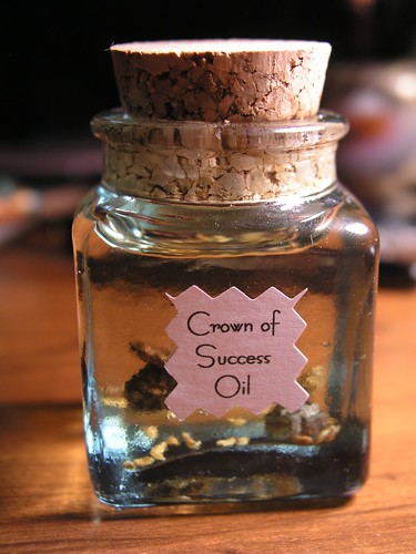 Crown of Success Oil | A California Yankee in King Cake's Court