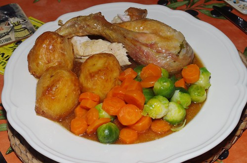 Another roast chicken Sunday roast by La belle dame sans souci