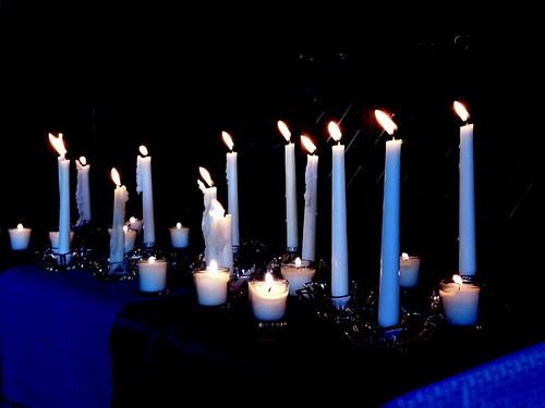 42/365 - All Saints Candles