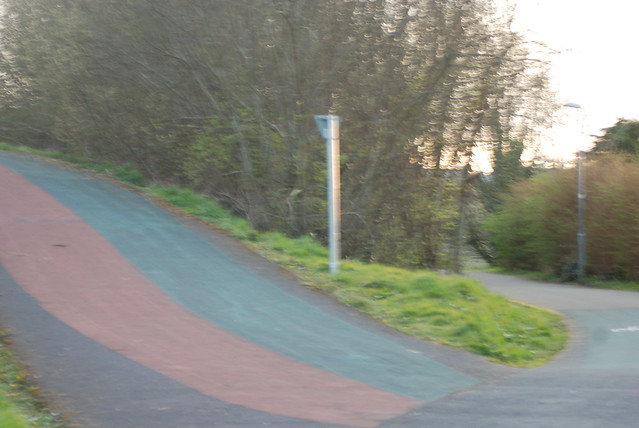 Inclines and slops on Westport's urban greenway